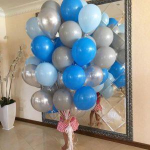Облако из шаров «Gray and Blue»