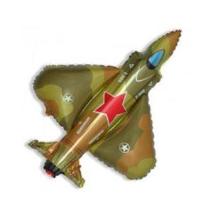 Фигура из фольги «Самолет» 98 см