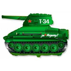 Фигура из фольги «Танк Т 34» 71 см