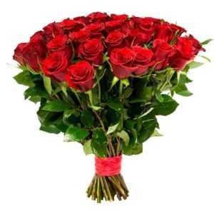 Красные Розы (Premium) 60 см