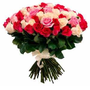 Розы Трио (Premium) 60 см
