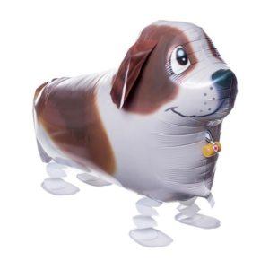 Шар Ходячая Фигура «Собака, Коричневый»