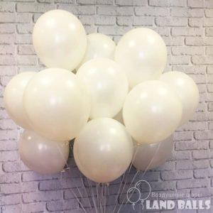 Шары «Белые» 35 см