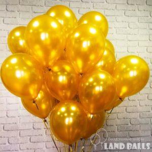 Шары «Золото» 35 см